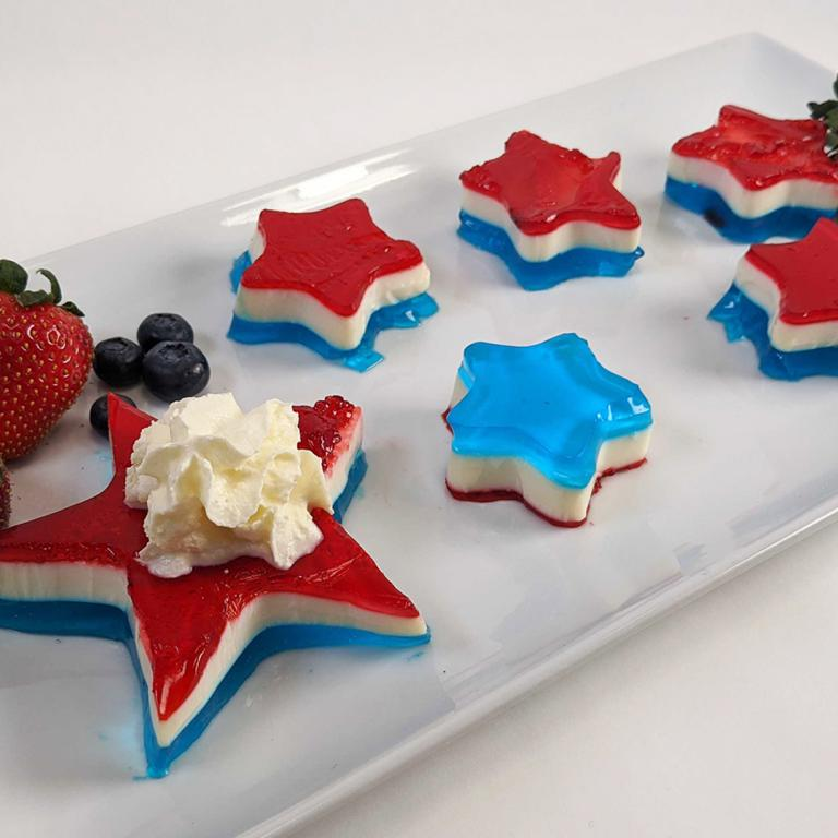 Jello Shot Stars