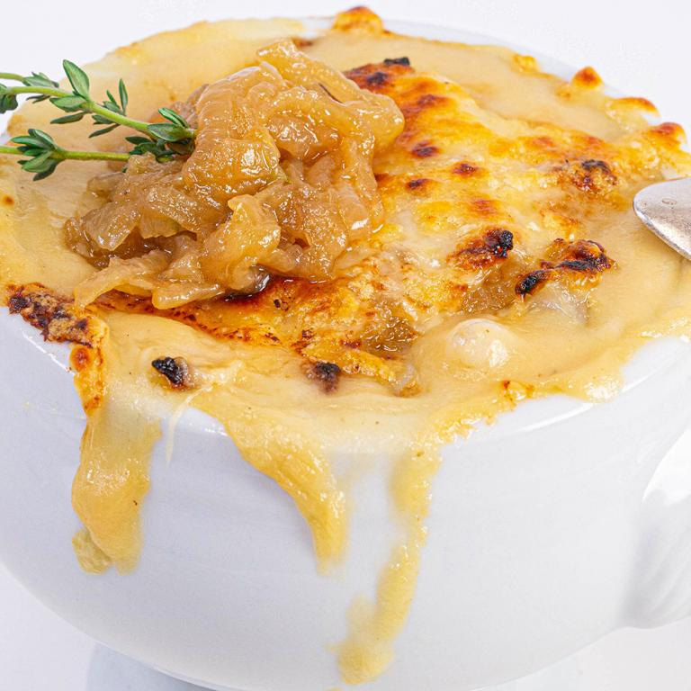 French Onion Potato Soup