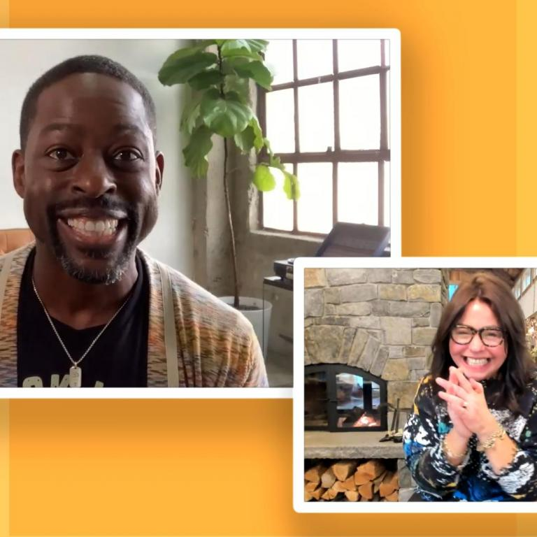 sterling k brown rachael ray