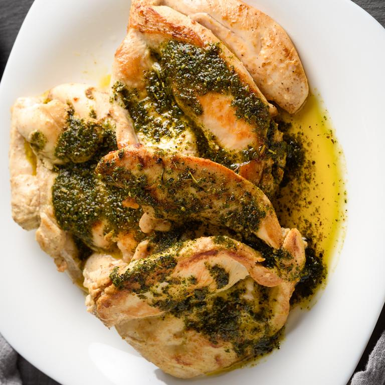 Balsamic Pesto Chicken