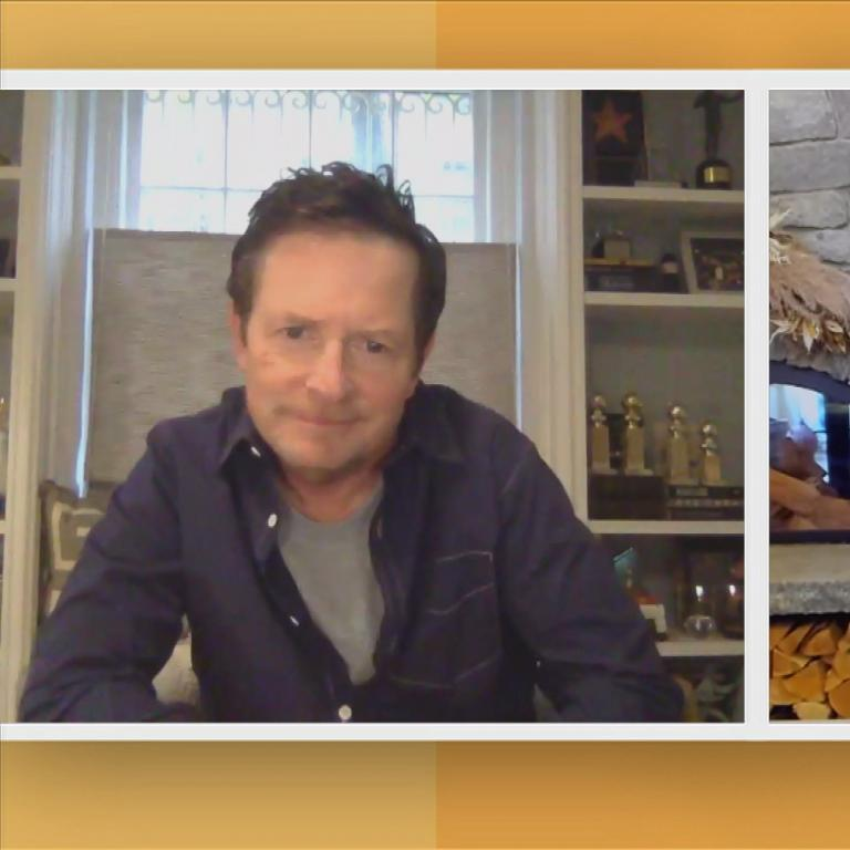 michael j fox rachael ray