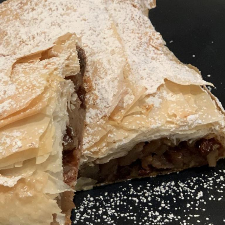 holiday strudel