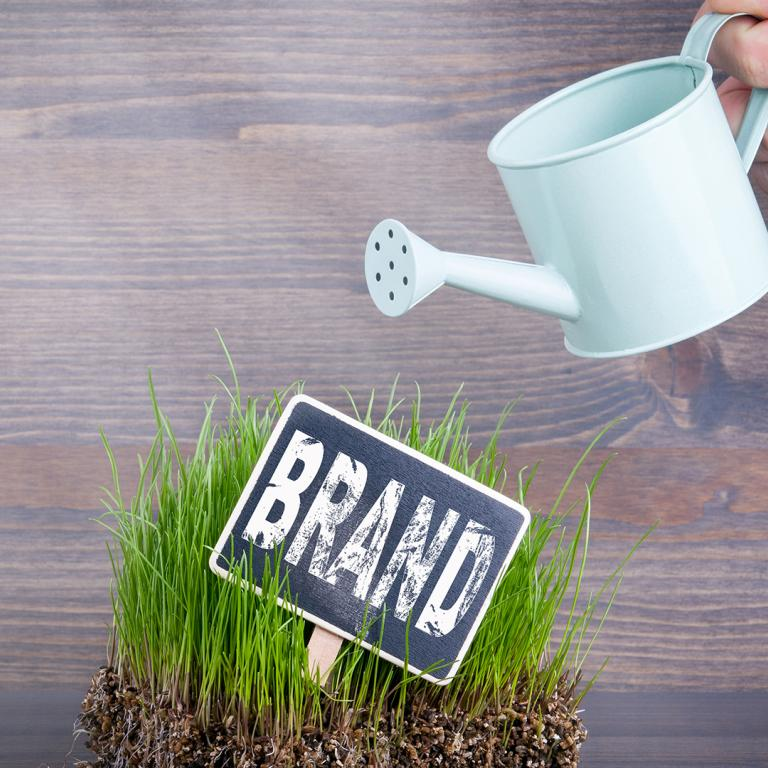 Grow Your Brand concept