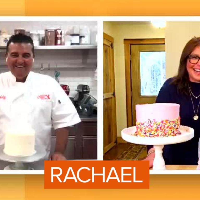 Buddy Valastro and Rachael Ray