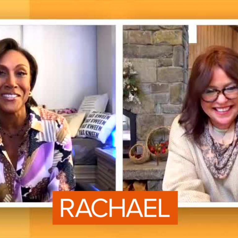 Robin Roberts and Rachael Ray