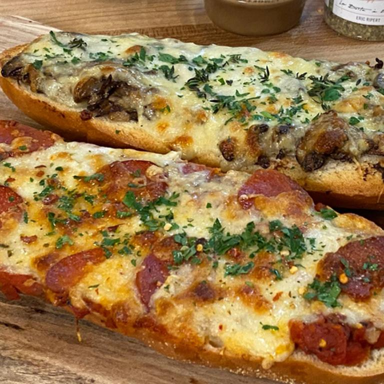 pepperoni French bread pizza