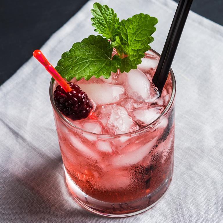 Blackberry-Ginger Mocktail