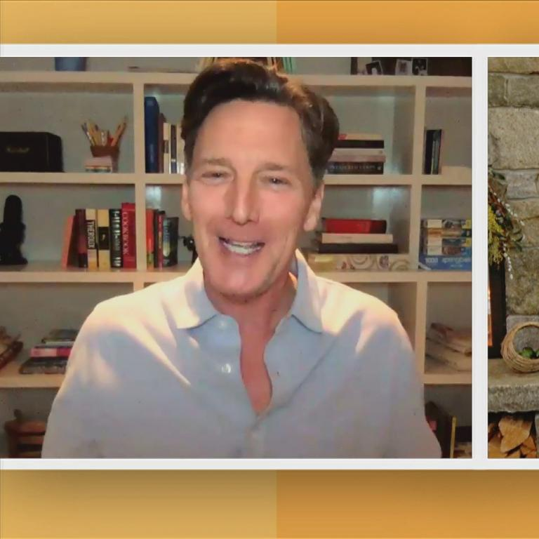 Andrew McCarthy and Rachael
