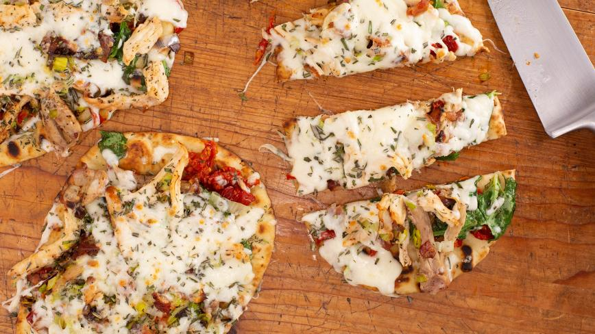 Turkey Club Flatbreads