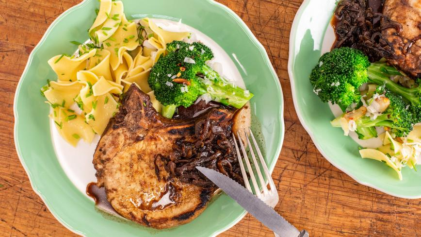 Thin-Cut Pork Chops