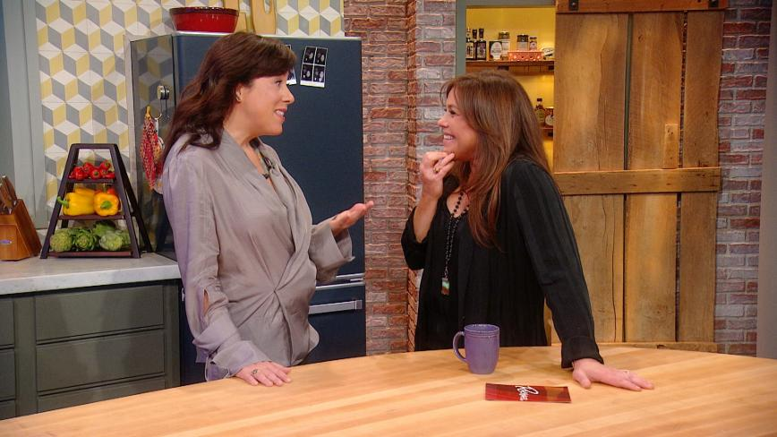 Kate Lacroix and Rachael Ray