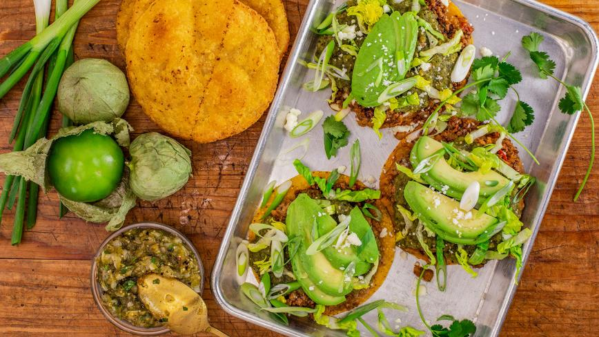 Rachael's Traditional Tostadas
