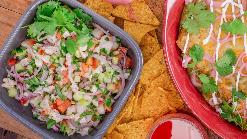 David Burtka's Red Snapper & Shrimp Ceviche