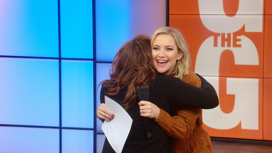 Kate Hudson And Rachael Ray