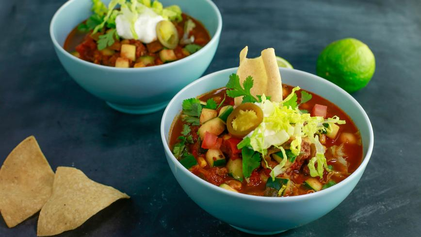 Sunny Anderson's Slow Cooker Chili