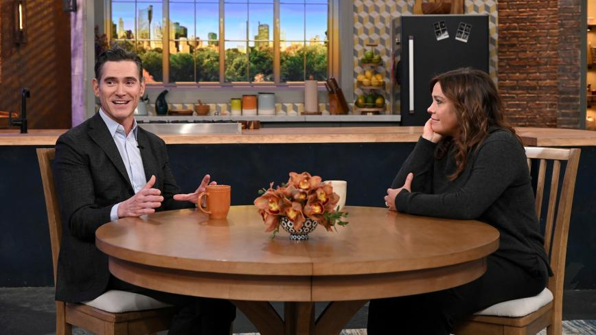 Billy Crudup and Rachael Ray