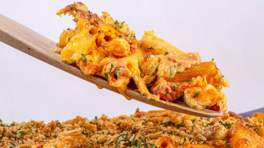 pimiento cauliflower mac