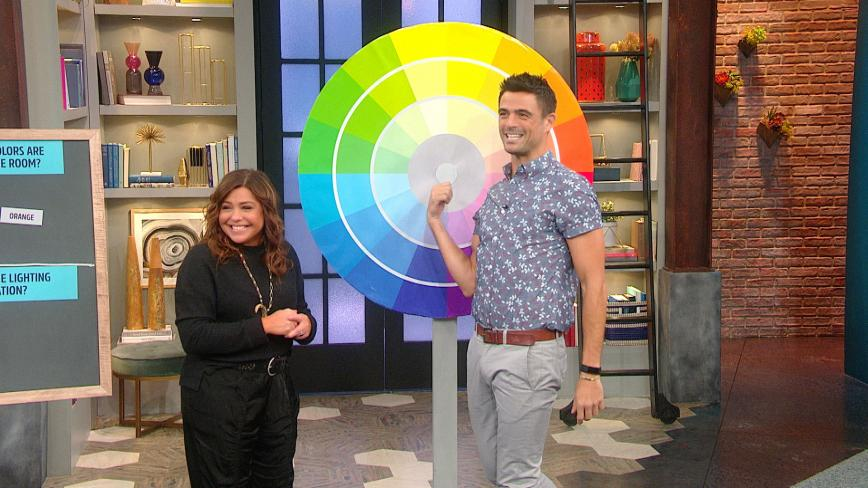 Host Rachael Ray and John Gidding