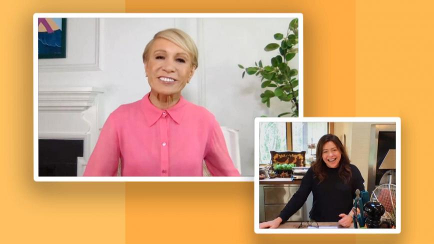 Rachael Ray and Barbara Corcoran