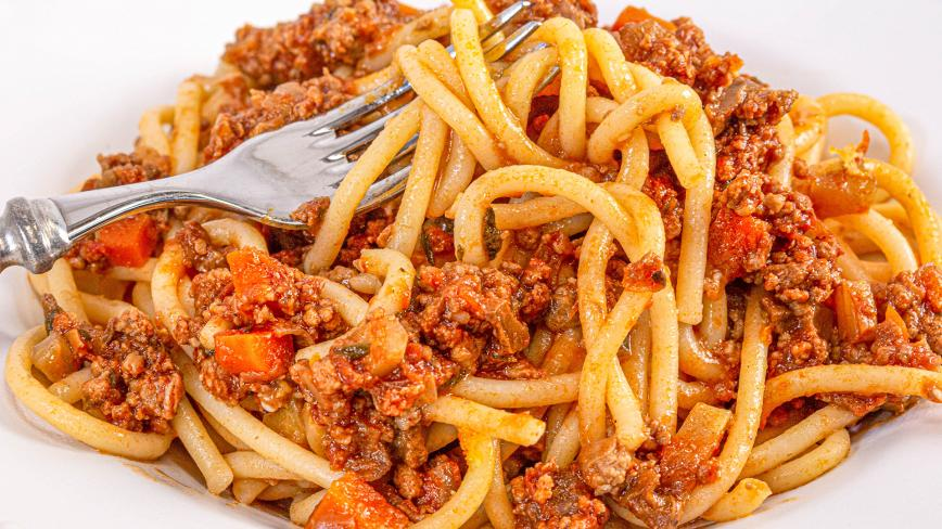 three meat ragu