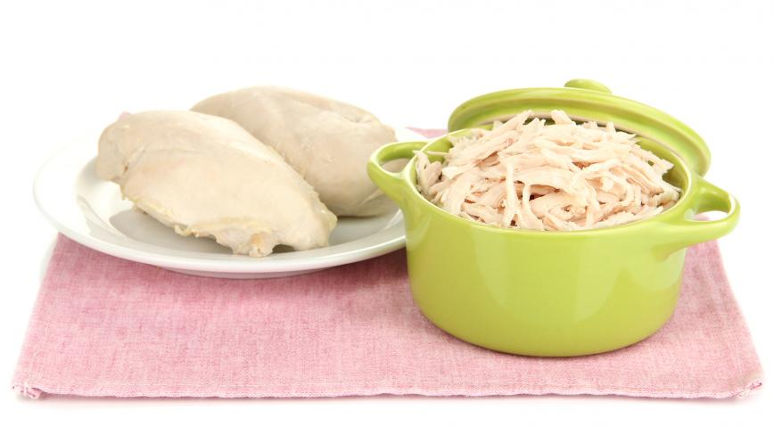 Poached Pulled Chicken