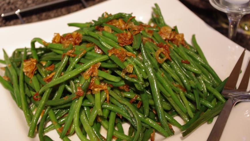 Green Beans and Shallots
