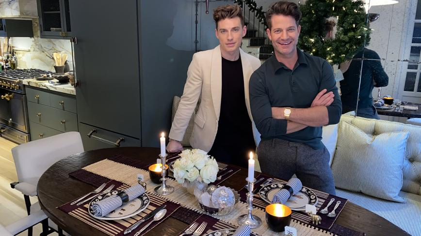 Nate and Jeremiah's Holiday Table
