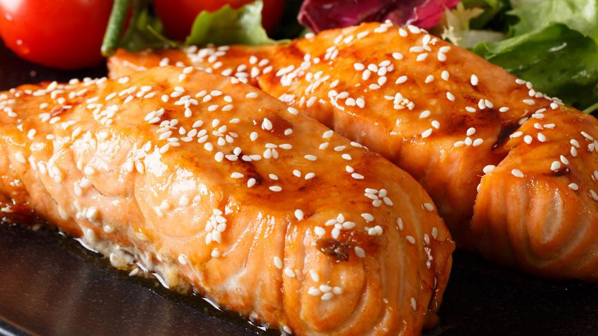 honey soy glazed salmon