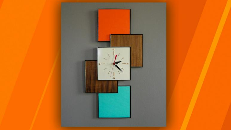 How To Diy A 200 Statement Wall Clock On A Budget Only 20