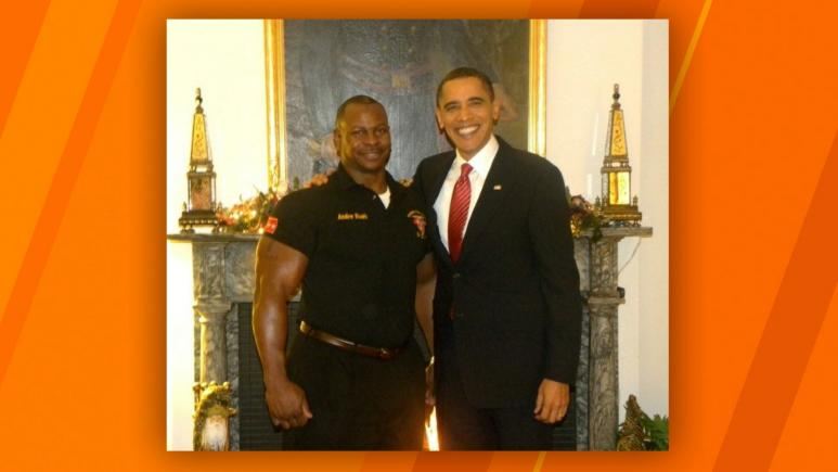 Chef Andre Rush & Barack Obama