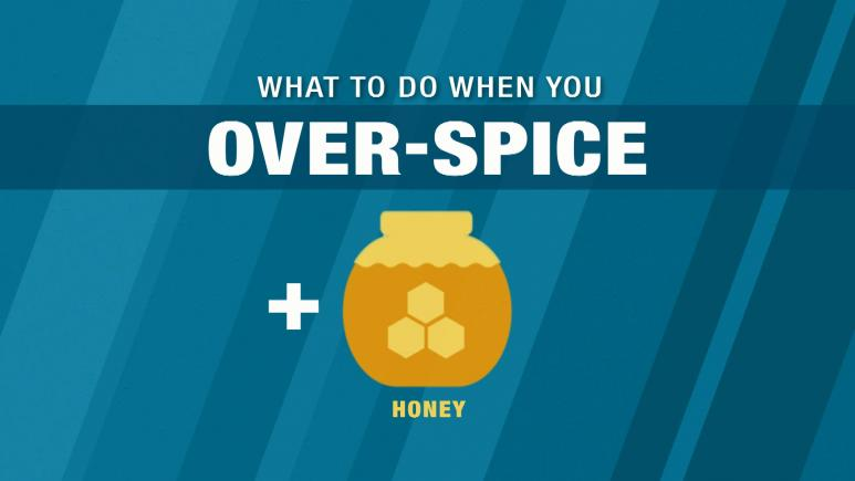 What To Do When You Over-Spice