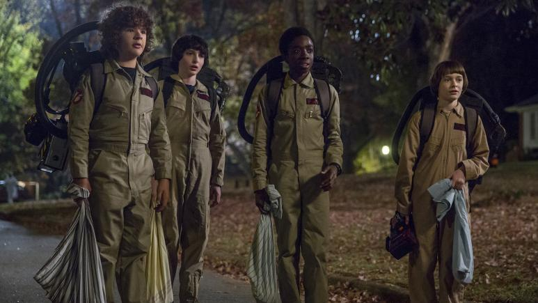 Ghostbusters costumes Stranger Things