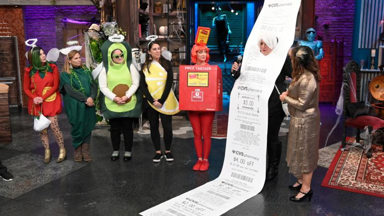 CVS receipt and points checker costumes