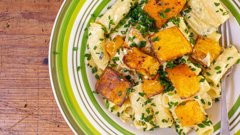 pumpkin vodka pasta