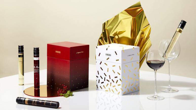"Vinebox ""12 Nights of Wine"" Gift Box"