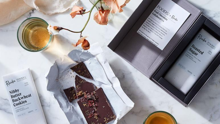 Raaka chocolate food subscription box