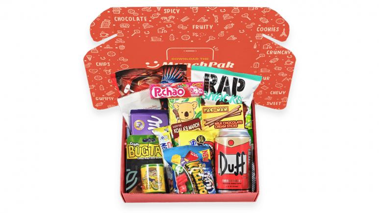 Munchpak food subscription box
