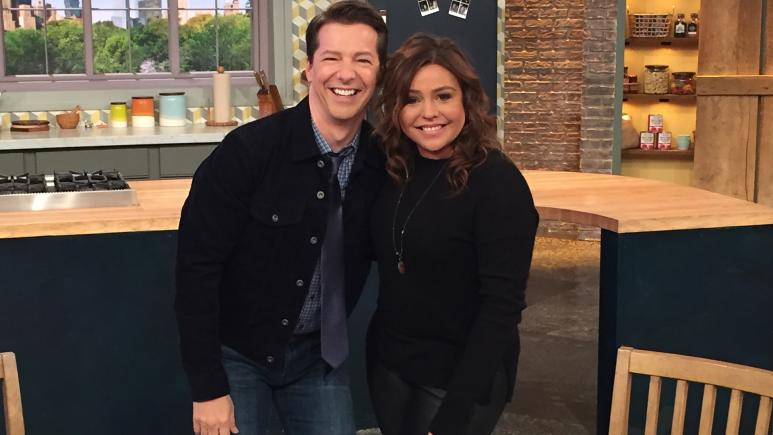 Rachael Ray and Sean Hayes