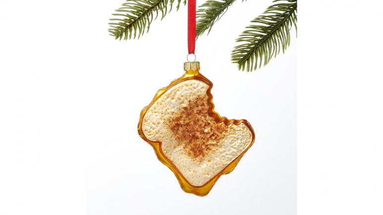 Holiday Lane Foodies Grilled Cheese Sandwich Ornament