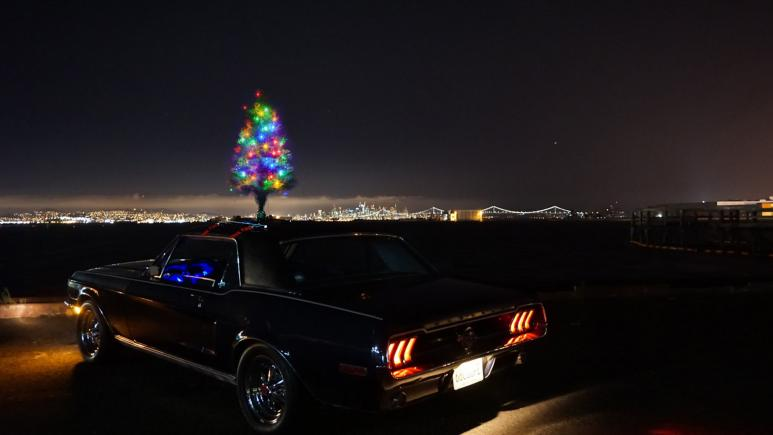 Christmas Car Tree