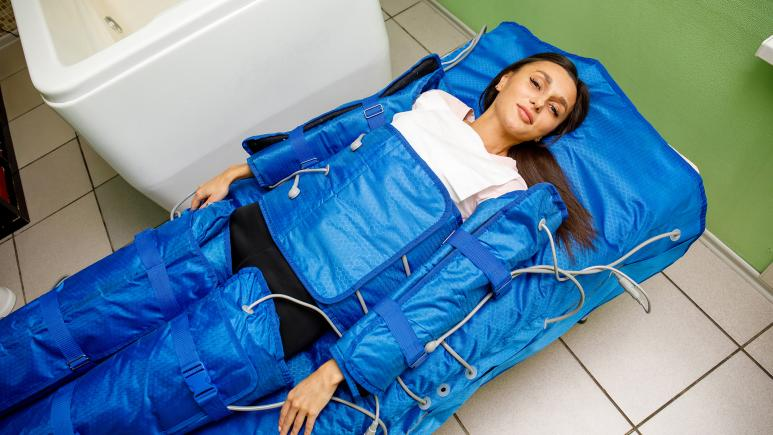lymphatic massage suit