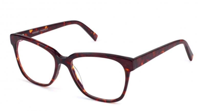 warby parker francis blue light glasses