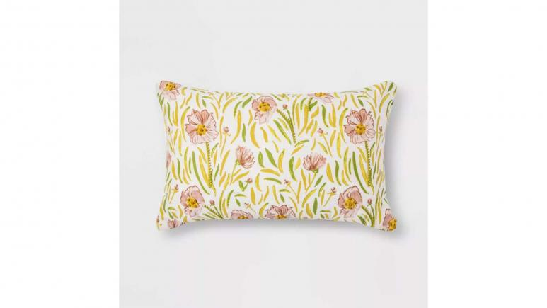 Threshold Floral Pillow