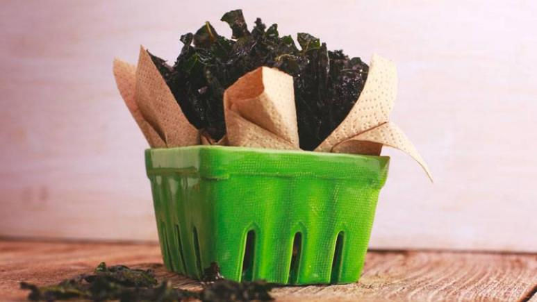 Kale Chips Recipe Oven Rachael Ray 11 Healthy Recip...