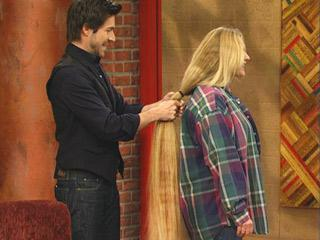 Floor Length Hair Makeover With Kyan Douglas Rachael Ray Show