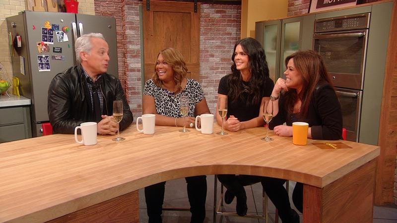 Sunny Katie Geoffrey Talk The Kitchen Rachael Ray Show