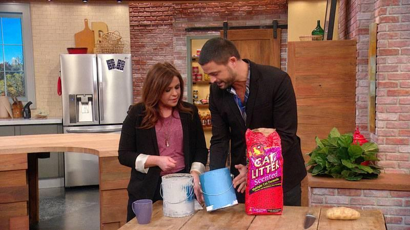 How To Use Kitty Litter To Sop Up Old Paint