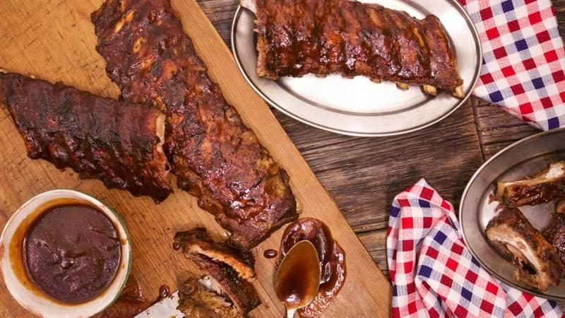 Fine How To Cook Baby Back Ribs Rachael Ray Show Download Free Architecture Designs Lectubocepmadebymaigaardcom