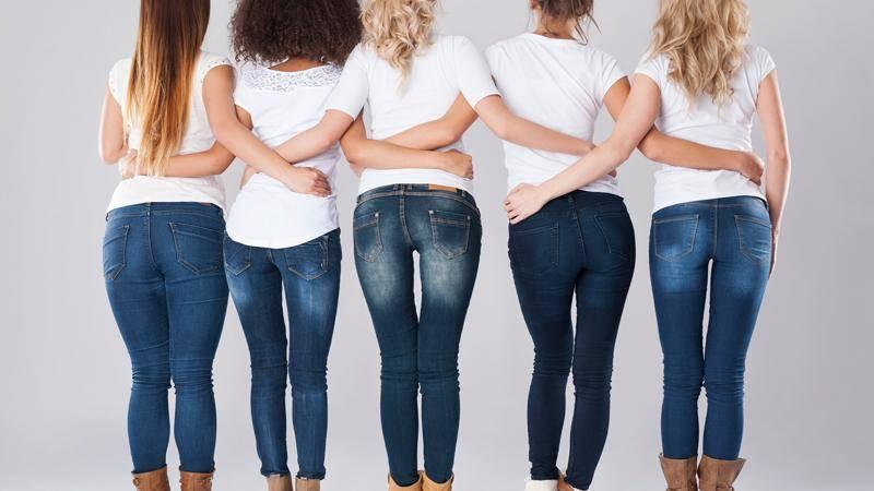 e085aab8ba6 The 3 Most Common Butt Shapes + How to Find the Perfect Pair of Jeans to  Flaunt YOURS