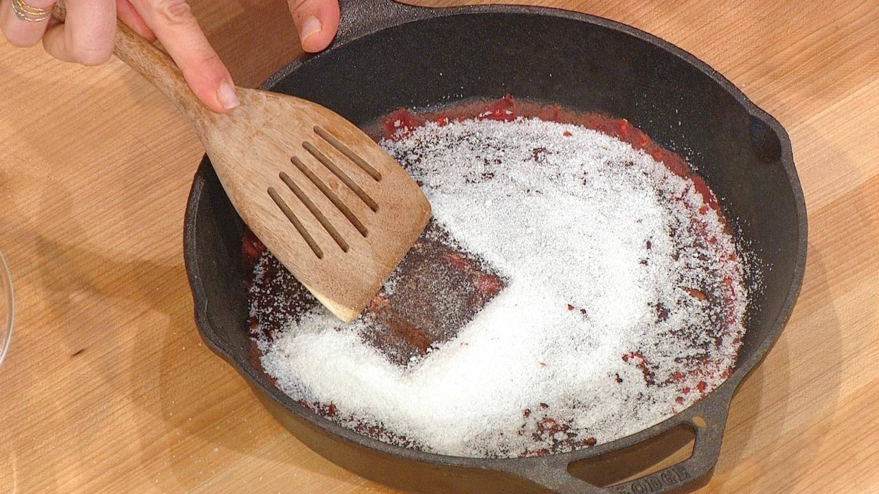 Cleaning Your Cast-Iron Skillet? DON'T Use Soap and Water
